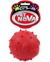 PET NOVA TPR Snackball Red 6.5cm, VAT009608