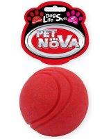 PET NOVA TPR Ball Red 5cm, VAT009614