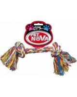 Pet Nova Sznur bawełniany szarpak zabawka dla psa 20 cm uniwersalny, 3002-uniw
