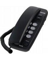 Telefon stacjonarny Mescomp Diana czarny, MT 518 C
