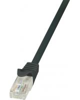 LogiLink CAT 5e Patchcord U/UTP Czarny 7.5M (CP1083U)