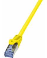 LogiLink Patchcord, CAT6A, S/FTP, PIMF, 0,5m, żółty (CQ3027S)
