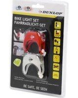 Dunlop Zestaw silikonowych lamp rowerowych Deluxe Led przód tył, Z0462