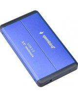 Kieszeń Gembird Obudowa zewnętrzna 2.5 USB 3.0 Niebieska (EE2-U3S-2-B)