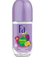 Fa Brazilian VibesIpanema Nights Roll-On Deodorant dezodorant w kulce Maracuja Night Jasmine Scent 50ml, 9000101229813