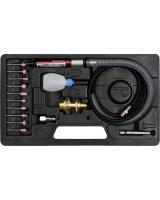 Vorel szlifierka pneumatyczna prosta mini 0.65MPa, dysza 3mm, z akcesoriami (80970)