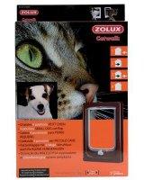 Zolux Drzwiczki dla małych psów brązowe