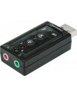 Karta dźwiękowa Manhattan Hi-Speed USB 3D 7.1 (152341)