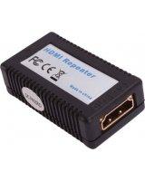 System przekazu sygnału AV HDMI - HDMI (F/F) Czarny