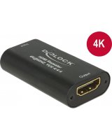System przekazu sygnału AV Delock Repeater HDMI 4K, 60 Hz, UHD, 30 m (11462)
