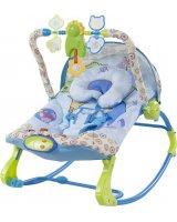 Sun Baby Leżaczek - królestwo zwierząt, 5907478648909