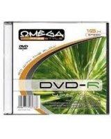 Omega DVD-R 4,7GB 16X SLIM 1szt. (OMDF16S), OMDF16S-