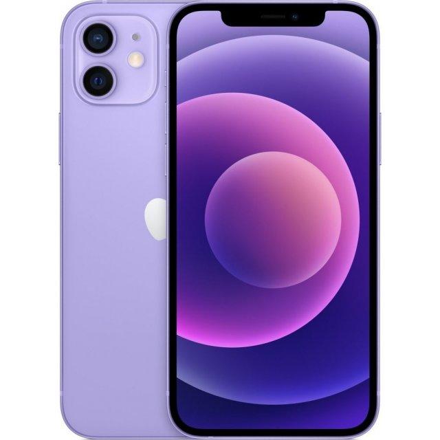 Smartfon Apple iPhone 12 128 GB Dual SIM Fioletowy (MJNP3PM/A)