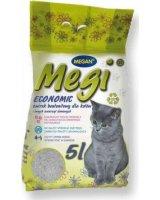 Megan MEGAN Megi Economic - żwirek dla kota bentonitowy zbrylający 5l