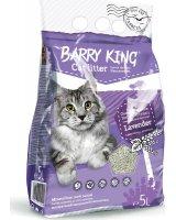 Barry King Żwirek bentonit dla kota lawendowy 5L, BK-14502