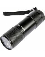 Latarka Yato Latarka aluminiowa 9 LED czarna - YT-08570