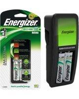 Ładowarka Energizer MINI RECHARGE 2xAA CZARNY (7638900421439)
