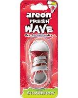 Areon Areon auto oro gaiviklis FRESH WAVE - Strawberry, 3800034959681