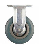 Vorel Kółko stałe z szarą gumą 50mm 87351