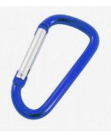 Rockland Karabinek do kluczy Blue (119 BLUE)