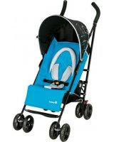 Wózek spacerowy Safety Slim Package City Blue