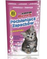 Super Benek Pochłanaicz zapachów Super Benek Lawenda - 450g, 5905397010883