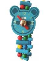 Bino Drewniany zegarek mysz, GXP-698268