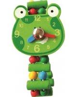 Bino Drewniany zegarek żaba, GXP-698267