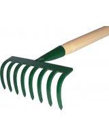 Kard Grabie ogrodowe 8-zębne trzon drewniany (22)
