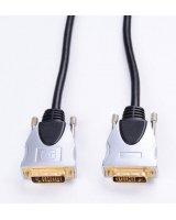 Kabel Impuls-PC DVI-D - DVI-D 1.8m srebrny