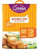 Politan Gosia Woreczki do pieczenia XXL Gosia kartonik box 500x500mm 3 szt. (5904771007655), GOS000034