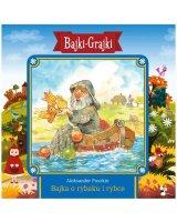 Bajki - Grajki. Bajka o rybaku i rybce CD - 182843