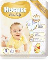 Huggies Sauskelnės HUGGIES Elite Soft, 3 dydis, 21 vnt.