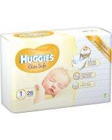 Huggies Pieluszki Elite Soft r. 1 26 szt.