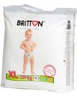Britton Sauskelnės - kelnaitės BRITTON XL dydis (13+kg), 18 vnt.