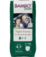Bambo Ekologiškos sauskelnės-kelnaitės BAMBO DREAMY BOY (15-35 kg), 10 vnt.