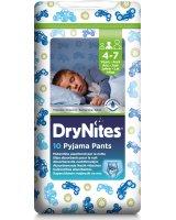 Huggies Sauskelnės HUGGIES DryNites Boys (17-30 kg) 4-7m, 10 vnt.