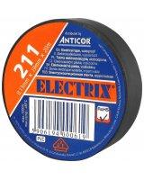 Anticor Taśma elektroizolacyjna PCW czarna 19mm 20m, PE-2112001-0019020
