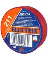 Anticor Taśma elektroizolacyjna PCW czerwona 19mm 20m, PE-2112002-0019020