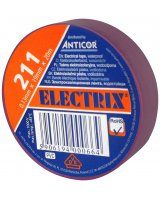Anticor Taśma elektroizolacyjna PCW fioletowa 19mm 20m, PE-2112006-0019020