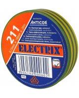 Anticor Taśma elektroizolacyjna PCW zielono-żółta 19mm 20m, PE-2112000-0019020