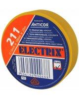 Anticor Taśma elektroizolacyjna PCW żółta 19mm 20m, PE-2112008-0019020