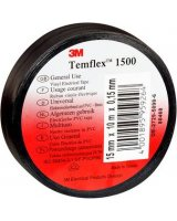3M Taśma elektroizolacyjna Temflex 1500 czarna 15mm x 10m (DE272950895)