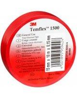 3M Taśma elektroizolacyjna Temflex 1500 15mm x 10m czerwona (DE272950960)