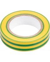NEO Taśma izolacyjna (Taśma izolacyjna żółto-zielona 15 mm x 0.13 mm x 10m), 01-529