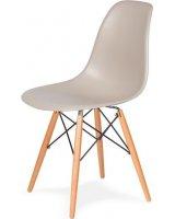 King Home Krzesło DSW Wood beżowe, 5900168806429