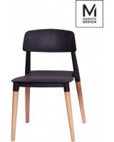 Modesto Design MODESTO krzesło ECCO czarne, 5900168801547
