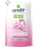 Apart Natural Mydło w płynie Prebiotic Jedwab i kwiat jaśminu 400ml, 5900931022933