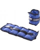 Victoria Sport Obciążniki na rzepy 2x0.5kg niebieskie, 1006598