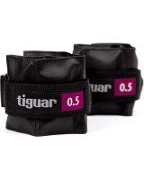 Tiguar Obciążniki na rzepy czarne 2x0,5kg (TI-OB00005), 5906660029861